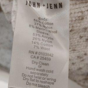 "Anthropologie Sweaters - Anthropologie  John + Jenn ""Ketby"" sweater size L"